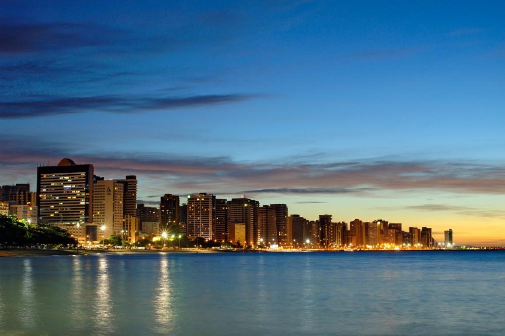 Beira Mar - Fim de tarde em Fortaleza